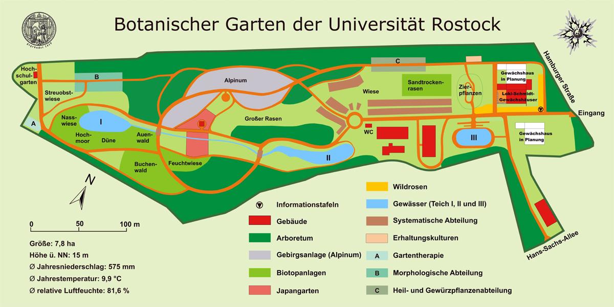 Garten Rostock allgemeines zum botanischen garten botanischer garten
